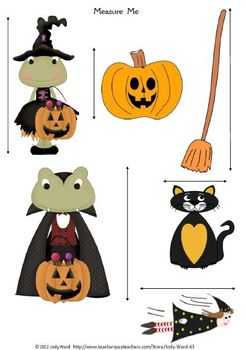 Halloween A Classroom Set of Activities, Worksheets and Printables