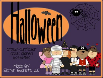 Halloween: A Cross-Curricular, CCSS-Aligned Activity Pack