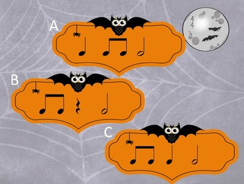 Halloween - A Fly Swatting Game to Practice Half Notes