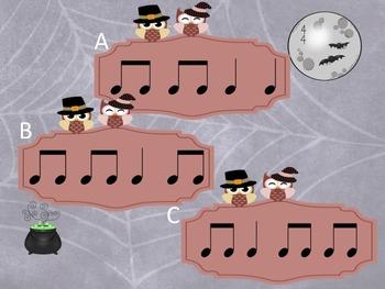 Halloween - A Fly Swatting Game to Practice Ta and Ti-Ti