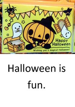 Halloween. A LOOK BOOK Easy Reader