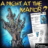 Halloween - A Night at the Manor ? - Art Lesson Plan