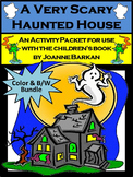 Halloween Activities: A Very Scary Haunted House Halloween Reading Activities