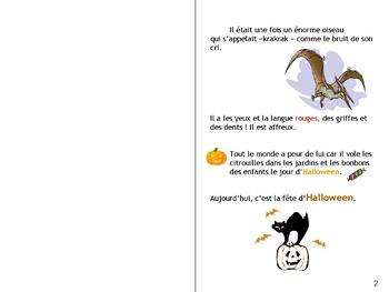 Halloween - A french story  - L'oiseau et la sorcière