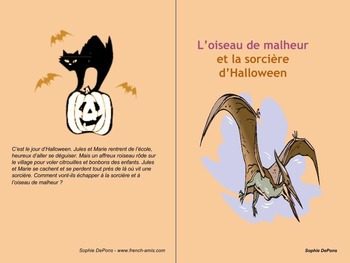 Halloween -A french strory - L'oiseau et la sorcière - SHORT VERSION