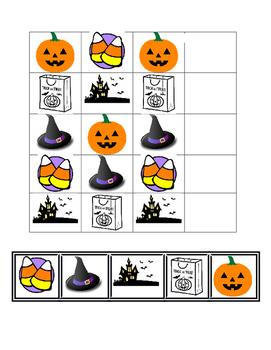 Halloween AB Pattern