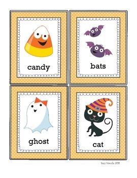 Halloween ABC Order Activity