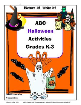 Halloween Fun -An Alphabet Activity Bundle