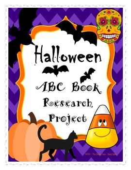 Halloween ABC Book Research Project