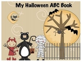 Halloween ABC Book and Vocabulary Words