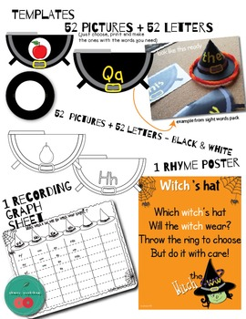 Halloween Literacy Center Alphabet