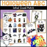Halloween ABC Letter Sound Match