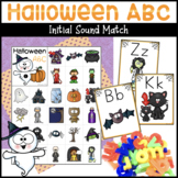 Halloween ABC Letter Match