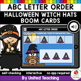 Halloween ABC Letter Order (Boom Cards) (Distance Learning)