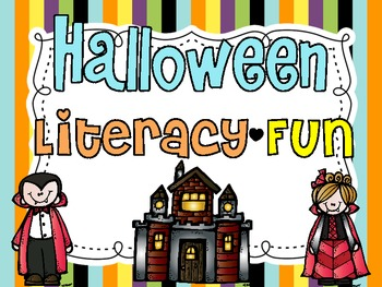 Halloween {ABC Literacy Fun}