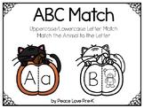 Halloween ABC Match