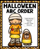 Halloween Abc Order