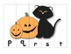 Halloween ABC Order Puzzles (lowercase)