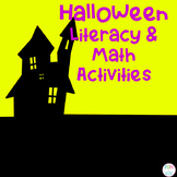Halloween ABC and Number Activities