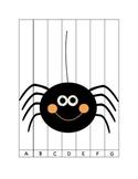 Halloween ABC order puzzles