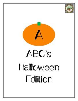 Halloween ABC's