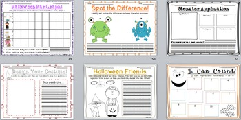 Halloween AND Thanksgiving Activity BUNDLE!