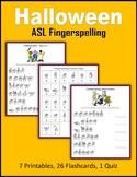 Halloween (ASL Fingerspelling)