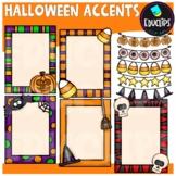 Halloween Accents Clip Art Bundle {Educlips Clipart}