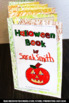 Halloween Accordion Book or Interactive Notebook Vocabular