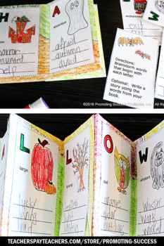 Halloween Craftivity Accordion Book