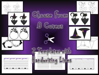 Halloween Accordion Craftivity Witch & Black Cat