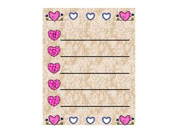 Valentine's Day Acrostic Poem (Sample)