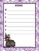 Halloween Writing Activities- Acrostic Poem Writing Fun!