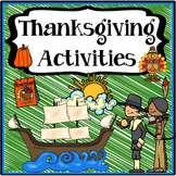 Thanksgiving Activities {Thanksgiving Writing, Reading, S&L, Math}