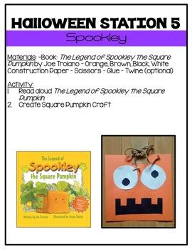 Halloween Activities! {Stations}