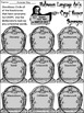 Halloween Worksheet Activity Packet: Halloween Language Ar