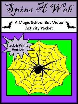 Halloween Science Activities: Spins a Web Magic School Bus