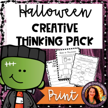 Halloween Activity Pack:  20 Halloween Activities for Literacy or Centers