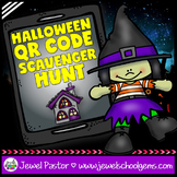 Halloween Activities (Halloween QR Codes Scavenger Hunt)