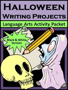 Halloween Activities: Halloween Writing Projects Activity Packet
