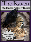 Halloween Reading Activities: The Raven Halloween Activity Packet