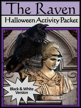 Halloween Reading Activities: The Raven Halloween Activity Packet