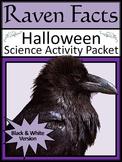Halloween Activities: Raven Facts Activity Packet