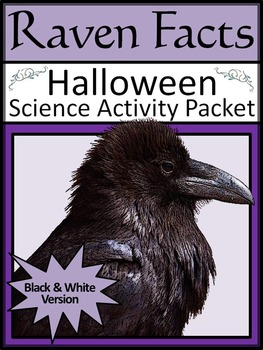 Halloween Activities: Raven Facts Activity Packet