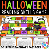 Halloween Reading Comprehensions Passages and Questions Game
