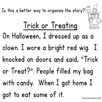 Halloween Sequencing Activities