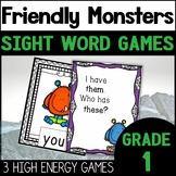 Monster Games Bundle | Sight Words