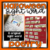 Halloween Poems and Activities for Sight Words