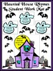 Halloween Activities: Haunted House Rhyming Words Activity Packet
