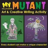My Mutant Creature Halloween Activities